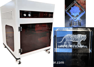 3D Laser Crystal Engraving Machine