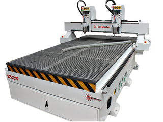 Double Spindles 4*8 Cnc Router with 2 Individual Spindles