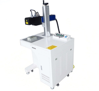 3D Fiber Laser Marking Machine For Curve