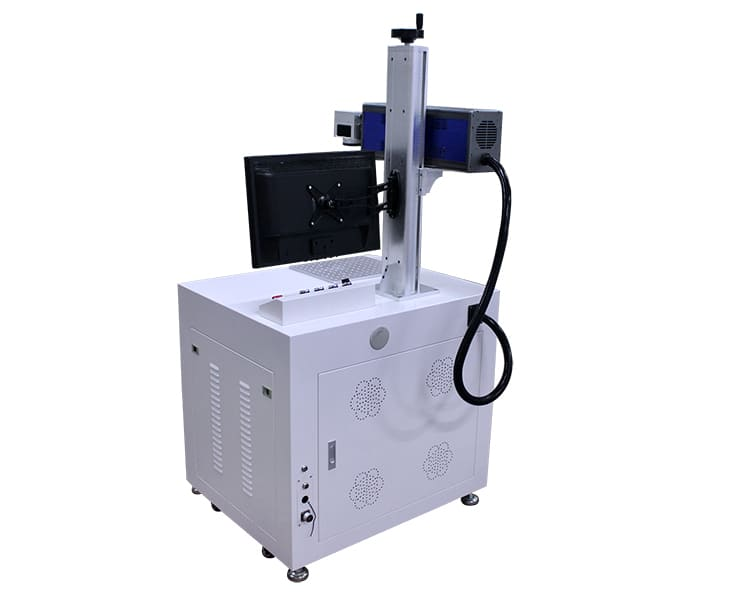 Led Bulb CO2 Laser Marking Printing Machine