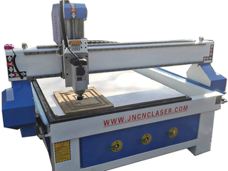 Cnc Router Machine with Rotary Fixture Axis