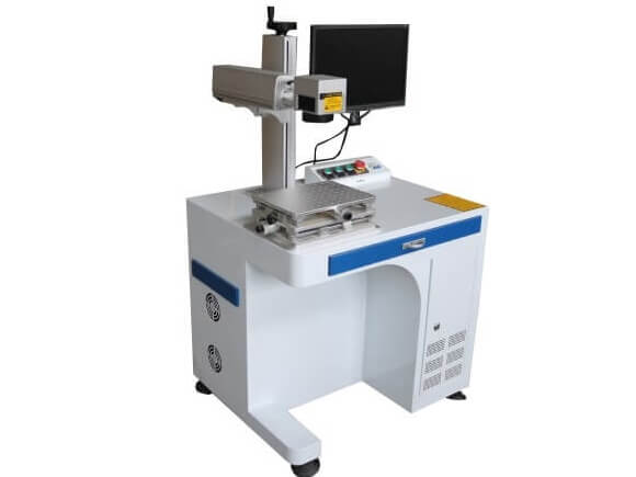Mopa Fiber Color Laser Marking Machine 30W for Metal Aluminum Copper