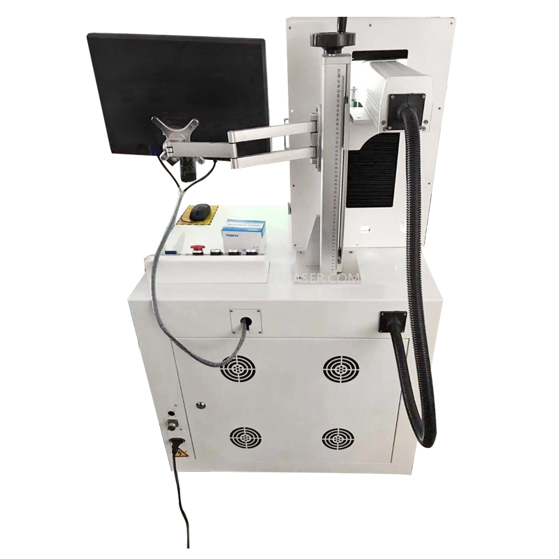 Color Laser Marking Machine with Mopa Fiber Laser Source