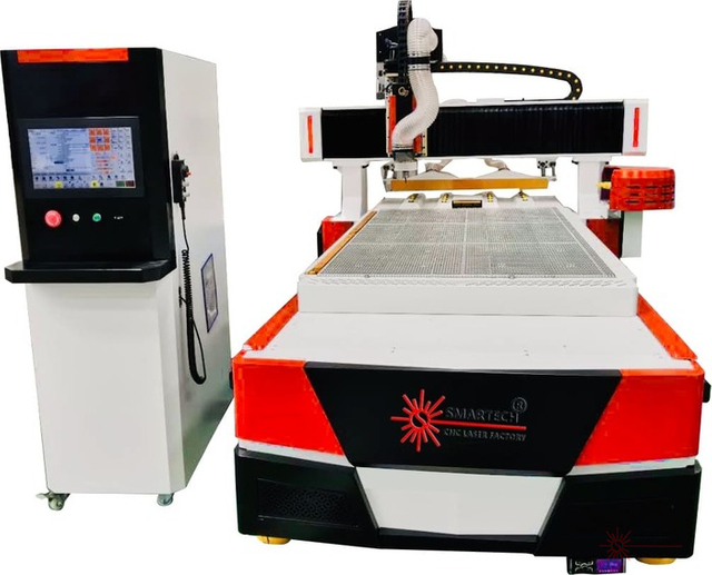 5'x10' Woodworking CNC Router with Automatic Disc Tools Changer
