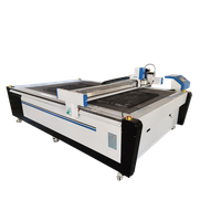 CNC Router With Tangential Knife For Carpet Carton Wood Aluminum