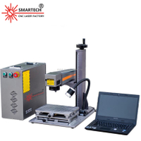 Portable Mini Fiber Laser Marking Engraving Machine for Jewelry