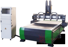 Four Heads/Spindles/Motor CNC ROUTER