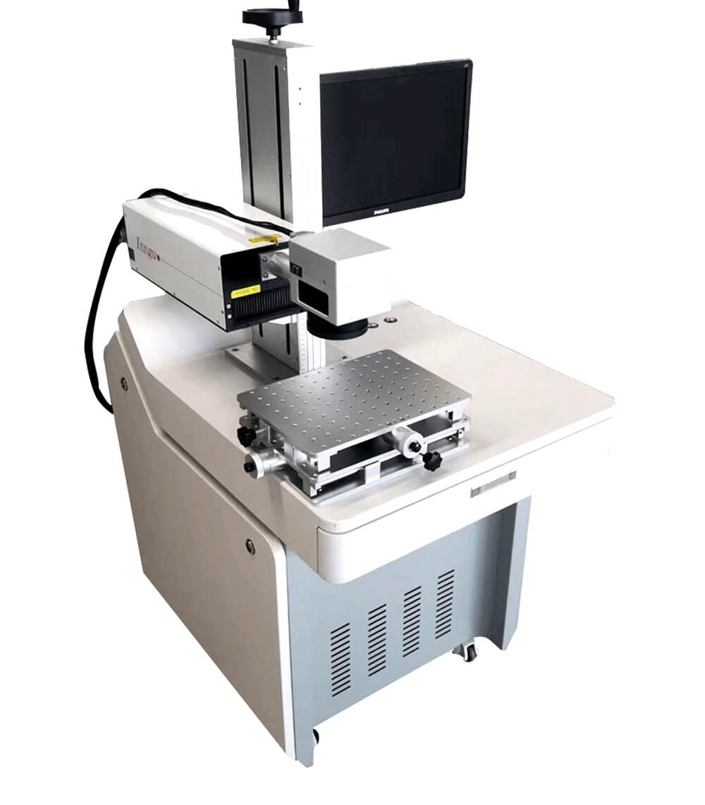 Table Type UV Laser Marking Machine For Plastic/Ceramic/Metal/ABS